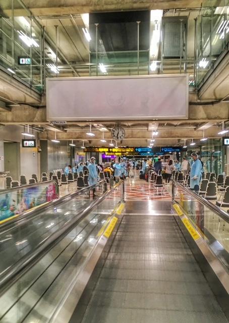 Ankunft Bangkok Flughafen