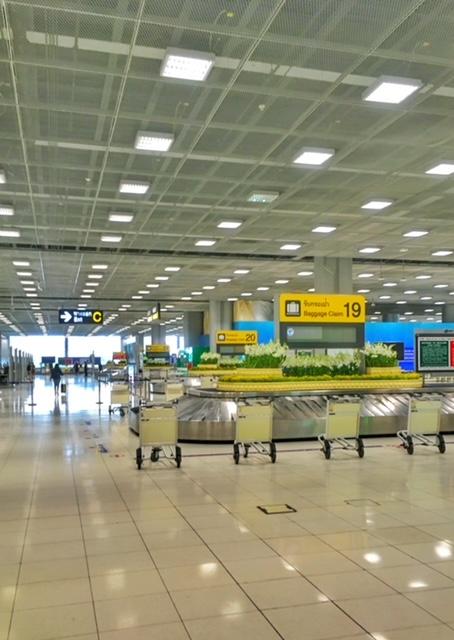 Bangkok Flughafen Kofferausgabe