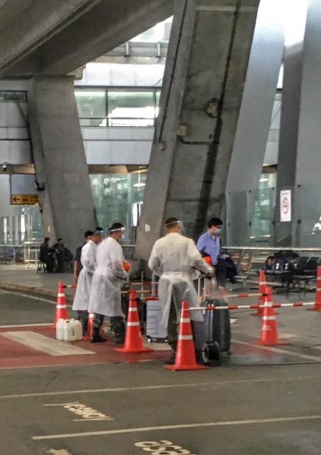 Reise nach Thailand Bangkok Flughafen