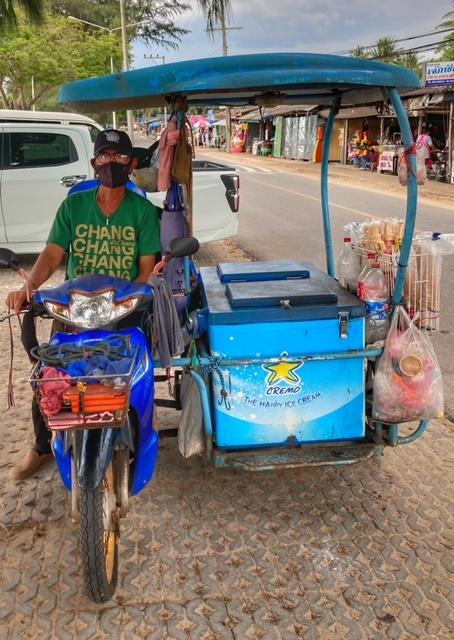 Saläng Moped Beiwagen Thailand