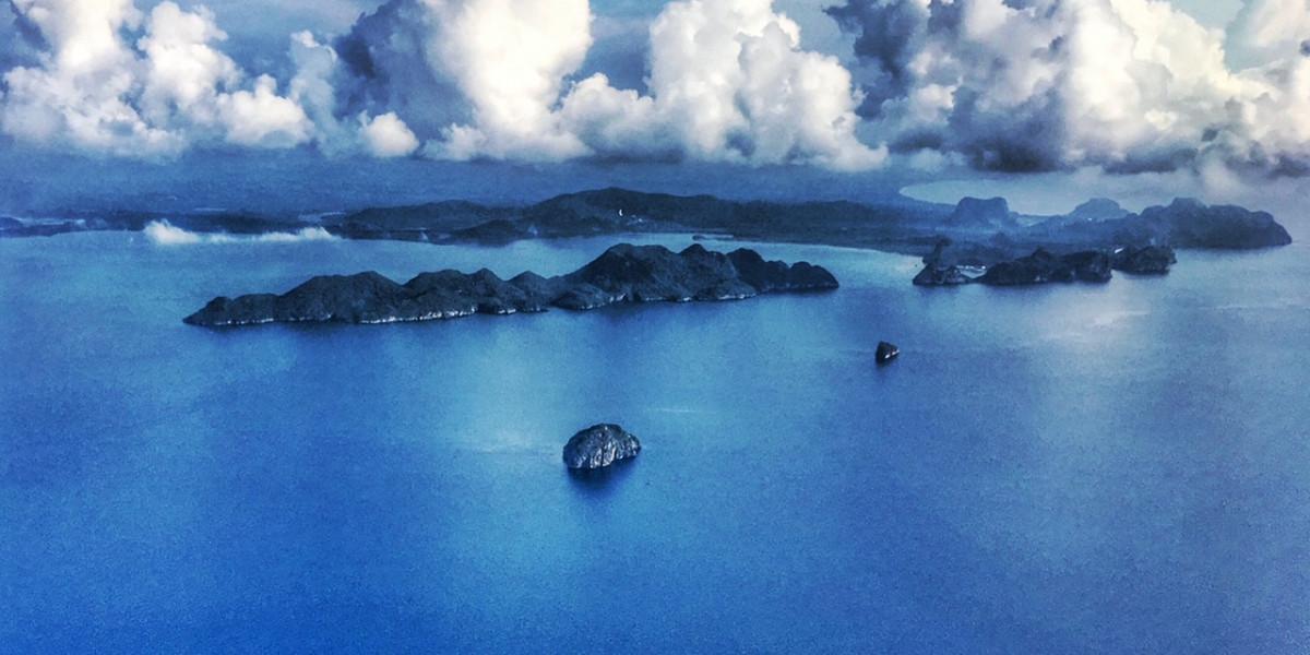 auf einer Insel in Thailand leben