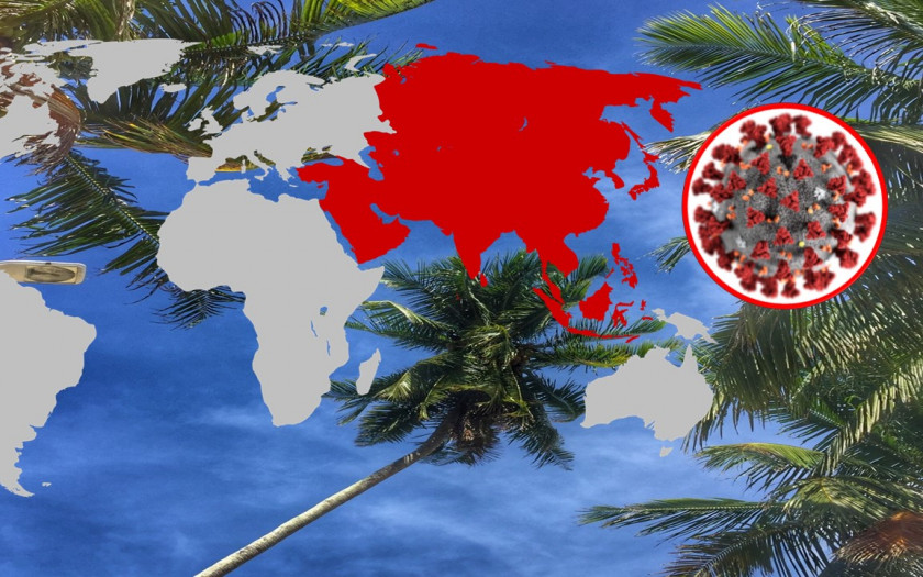 Covid-19 Berichterstattung Thailand Asien