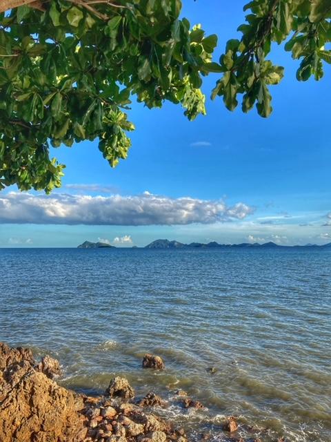 Herrlicher Ausblick aufs Meer und Insel