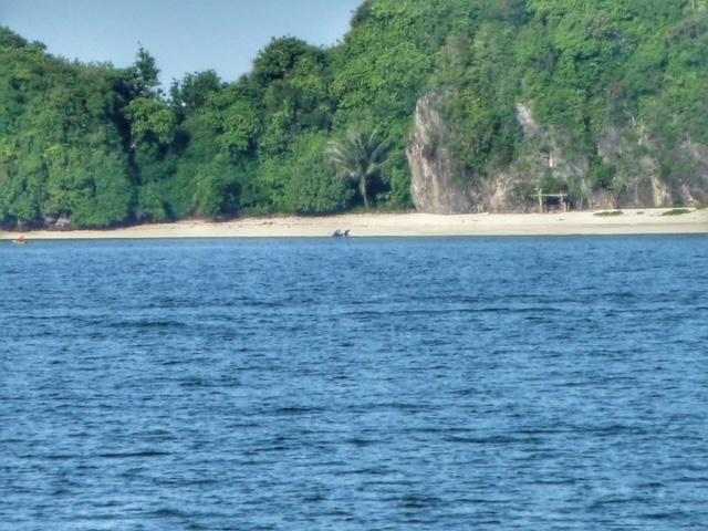 Kleine Traum Insel, 800 m vom Saairee Strand entfert