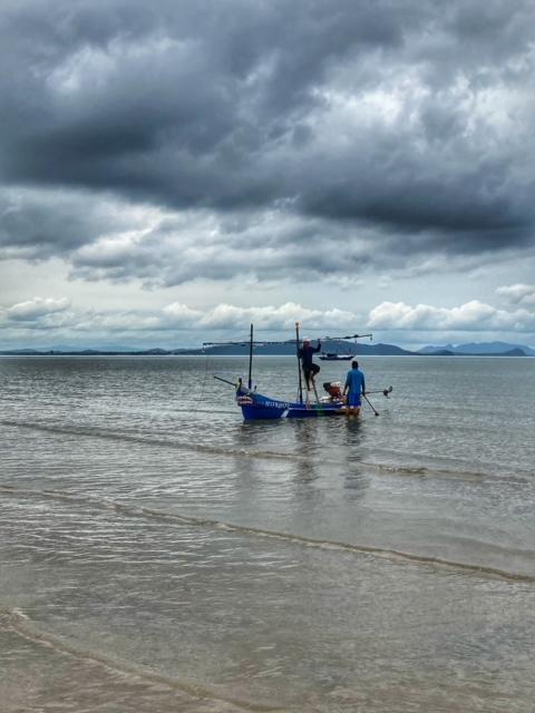 Chumphon Thailand Fischerboot