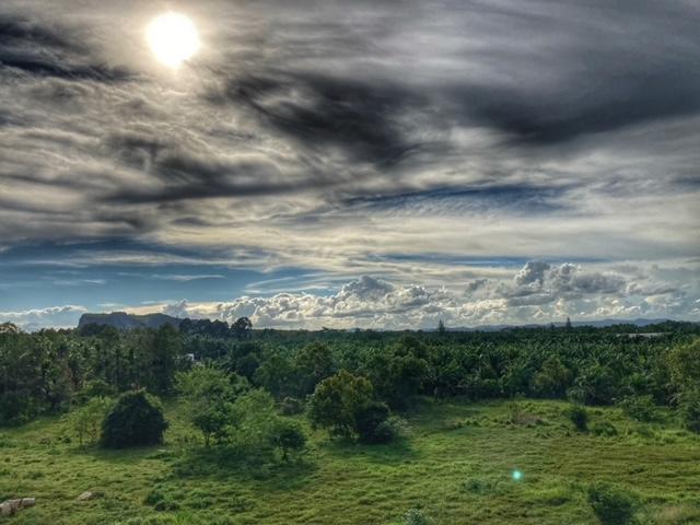 Chumphon Thailand Wolkenspiele