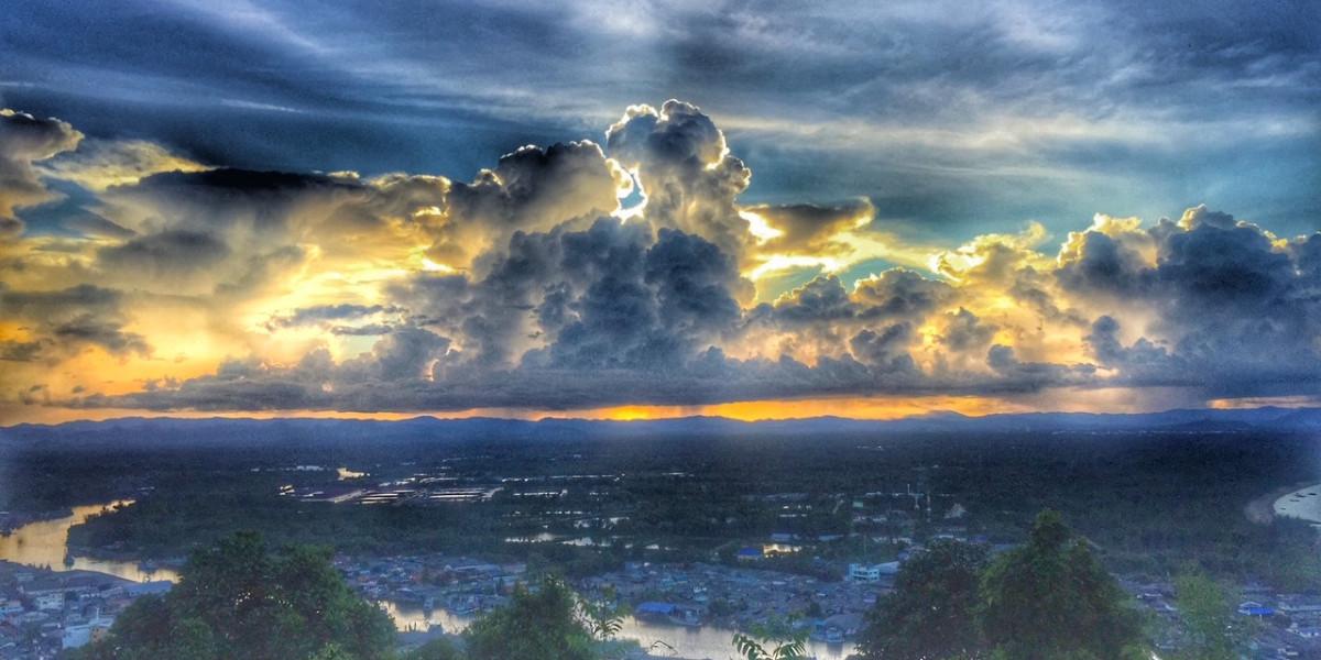 Monsun, Regenzeit Thailand, tropisches Monsunklima