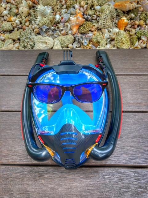 Sonnenbrille und Taucherbrille Thailand