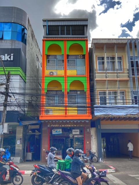 einzelnes Shophouse Chumphon Thailand
