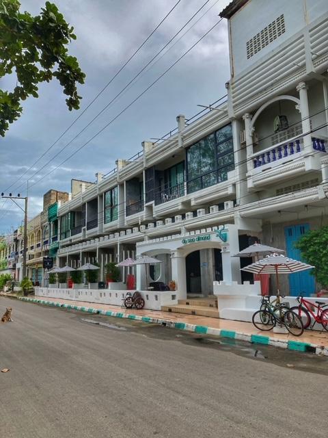 renovierte Shophouses als Hotel