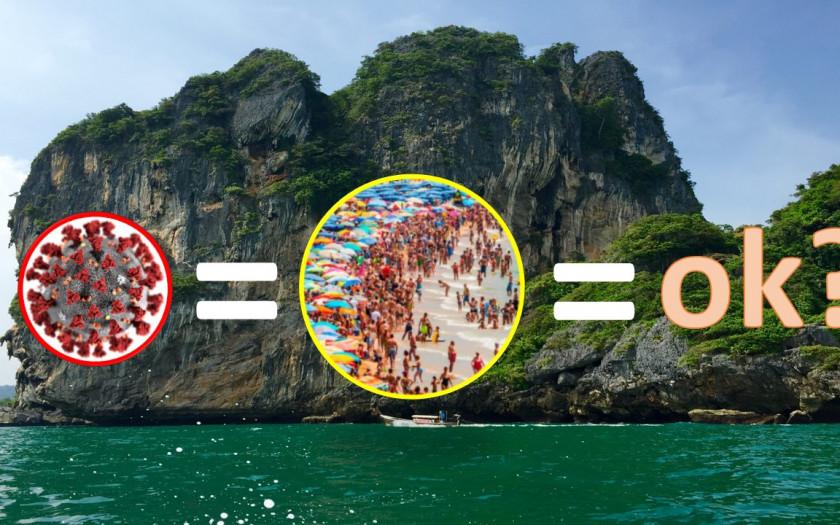 Massentourismus Tourismus Urlaub Thailand