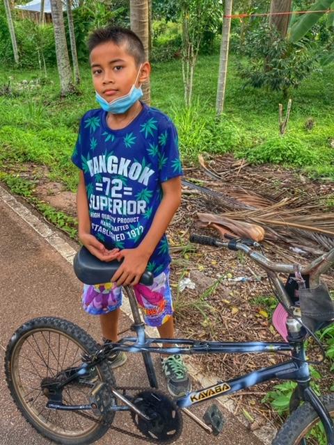 Radtour Pak Naam Chumphon Thailand