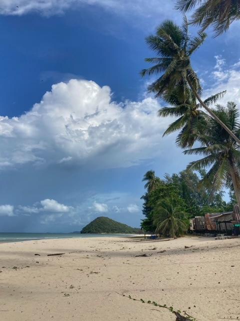 Leerer Cabana Strand, Hilfe gegen die verrückte, chaotische, komplexe Welt