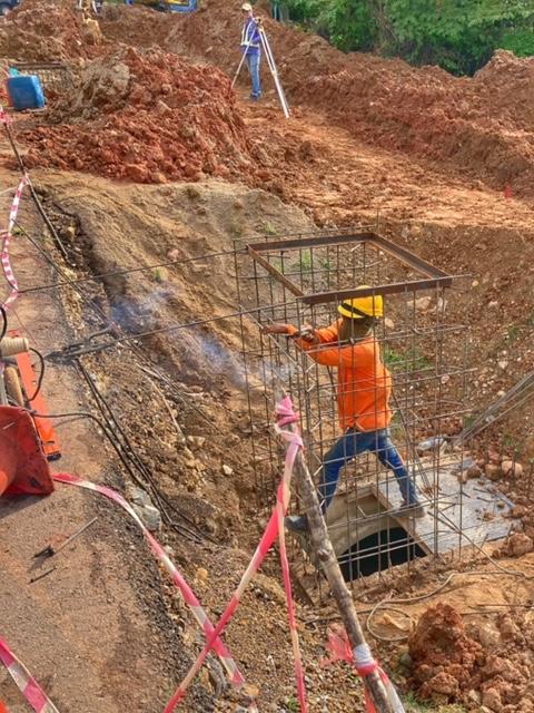 Infrastruktur Thailand Kanalisationsbau Chumphon