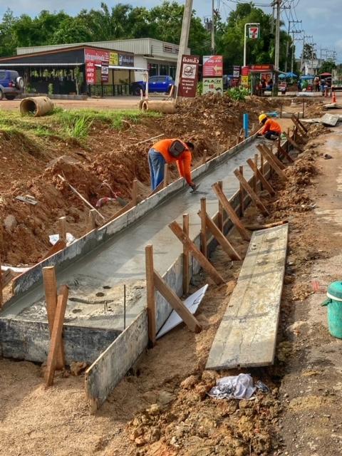 Infrastruktur Thailand Kanalisation Chumphon