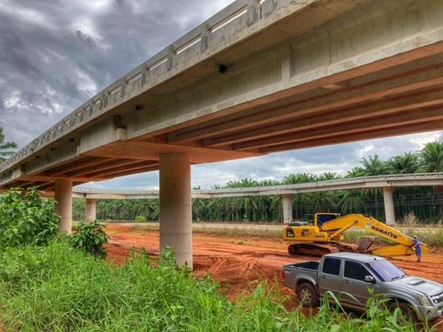 Infrastruktur Thailand Straßenbau Chumphon