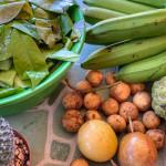 Obst Thailand Longon, Maracuja, Banane und anderes